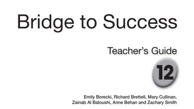Photo of دليل المعلم لغة إنجليزية صف ثاني عشر فصل أول