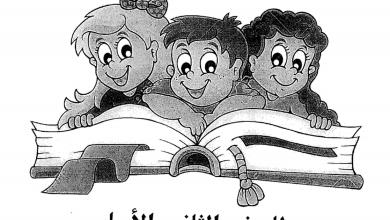Photo of تدريبات لغة عربية لاختبار نهاية الفصل الثاني للصف الثاني