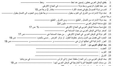 Photo of أوراق عمل الدرس الأول والثاني دراسات اجتماعية فصل أول صف تاسع