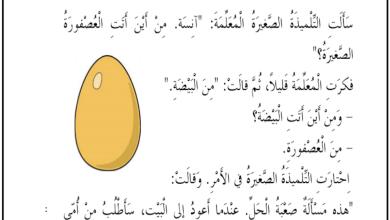Photo of مراجعة في مهارات اللغة العربية فصل أول صف ثاني