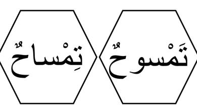 Photo of كلمات الدرس الثالث لغة عربية فصل أول صف أول