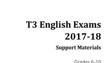 Photo of ملف هام للغة الانكليزية من الصف السادس للعاشر