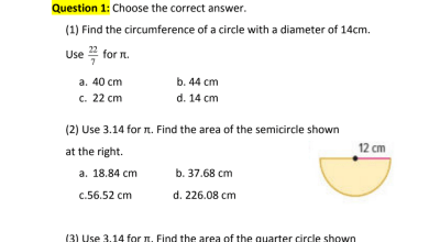 Photo of مراجعة نهائية رياضيات منهج إنجليزي صف سابع فصل ثالث