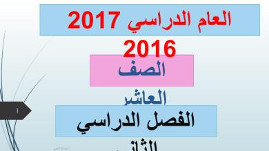 Photo of حلول دروس الفصل الثاني لغة عربية صف عاشر