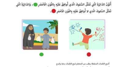 Photo of حل درس أسرتي دراسات اجتماعية صف اول فصل اول