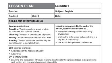Photo of دليل المعلم الوحدة التاسعة لغة إنجليزية صف خامس فصل ثاني