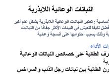Photo of ملخص النباتات الوعائية اللابذرية أحياء صف عاشر فصل ثاني