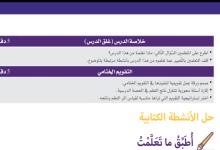 Photo of حل درس المياه في بلادي دراسات اجتماعية وتربية وطنية صف ثاني