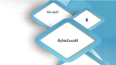 Photo of حل درس الاستعارة لغة عربية صف تاسع فصل ثاني