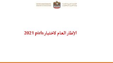 Photo of الإطار العام لاختبار pirls 2021
