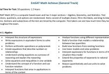 Photo of مواصفات الاختبار القياسي رياضيات صف ثاني عشر عام