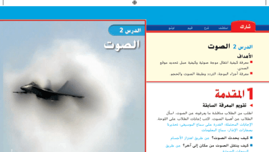 Photo of حل درس الصوت علوم صف خامس فصل ثالث