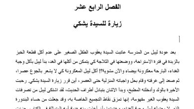 Photo of تلخيص درس زيارة للسيدة يشكي رواية احلام ليبل السعيدة