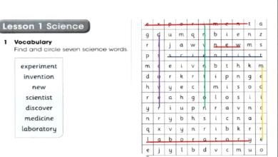 Photo of حل الوحدة العاشرة All about science لغة إنجليزية صف خامس فصل ثالث