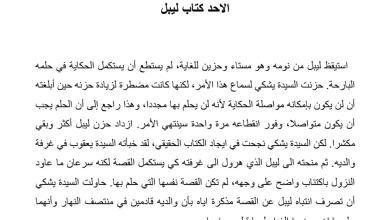 Photo of تلخيص درس الأحد كتاب ليبل رواية أحلام ليبل السعيدة
