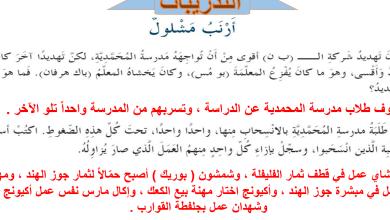 Photo of حل الفصل الرابع والثلاثون أرنب مشلول|عساكر قوس قزح