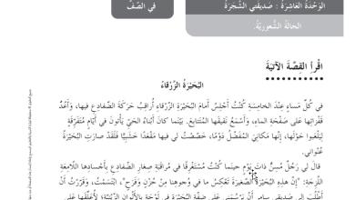 Photo of حل درس البحيرة الزرقاء عربي خامس