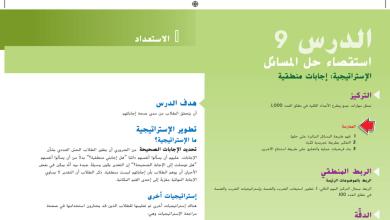 Photo of حل درس استقصاء حل المسائل رياضيات صف ثالث فصل أول