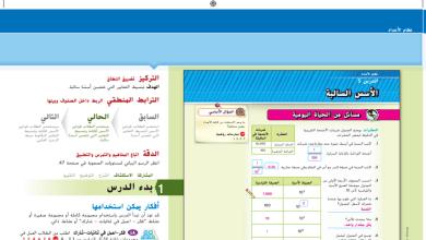 Photo of حل درس الأسس السالبة رياضيات صف ثامن فصل أول