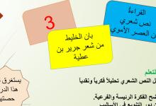 Photo of حل درس بان الخليط لغة عربية صف عاشر فصل أول