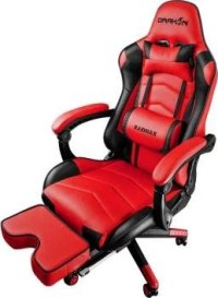 RAIDMAX Drakon Gaming Chair with Footrest Red | DK709RD ...