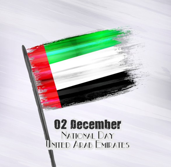 2018 vector uae national day