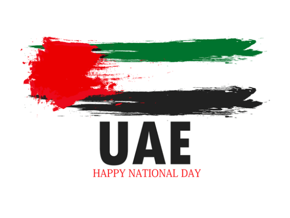 dubai national day flag