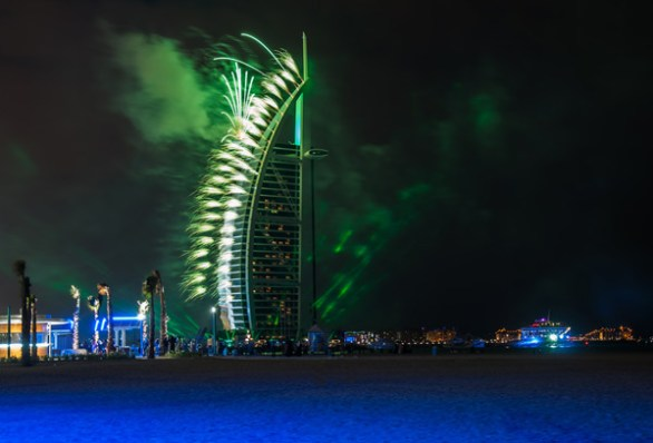 fireworks dubai today