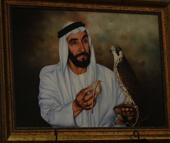 sheikh zayed hobbies
