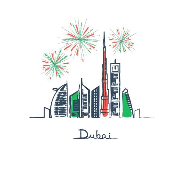 dubai happy new year 2019