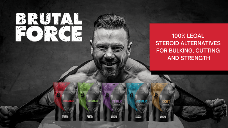 Brutal Force - Gain Muscle and Lose Fat Stack