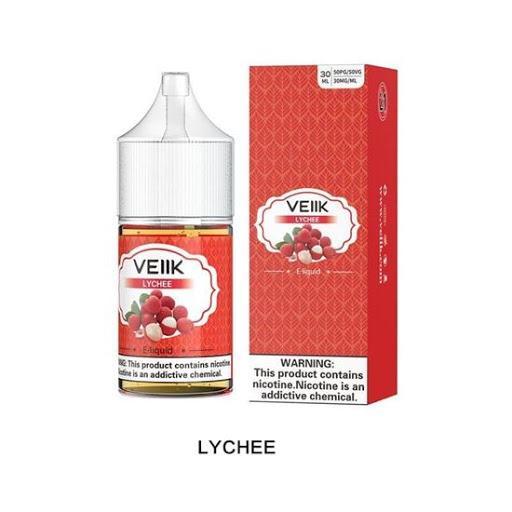 Best Vape Dubai Shop in UAE Premium E-juice, Liquids, Pods, VEIIK E LIQUID SALTNIC LITCHI 30ML Vape Batteries, Charger. in UAE