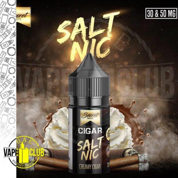 SECRET SAUCE CIGAR SALT NIC 30ML