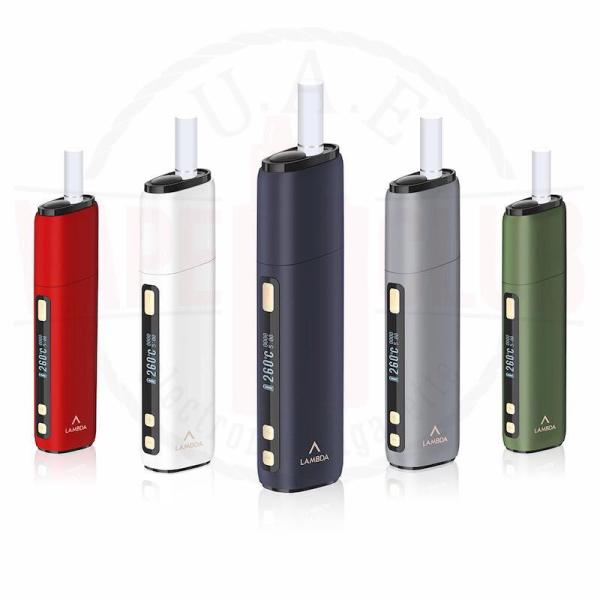 Lambda CC Vs Iqos Device Authentic for Tobacco Heat 40-Sticks Package Includes: 1 x CC 5 x Alcohol Cotton Swabs 1 x Type-C Cable 1 x Manual 1 x QC Card, Color: Black, White, Red, Grey, Green, Gold