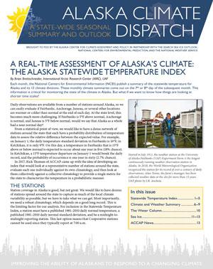 alaska climate dispatch cover