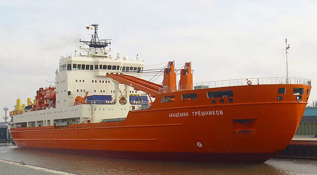 The Akademik Tryoshnikov.