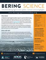 Bering Science fall 2020