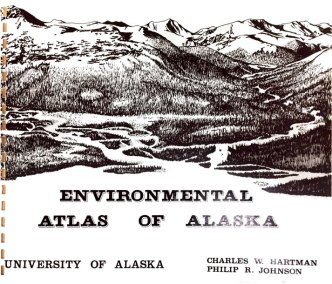 cover of the arctic environmental atlas of alaska, used by engineers.