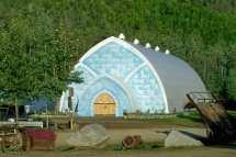 Fairbanks Alaska Ice Museum Chena Hot Springs