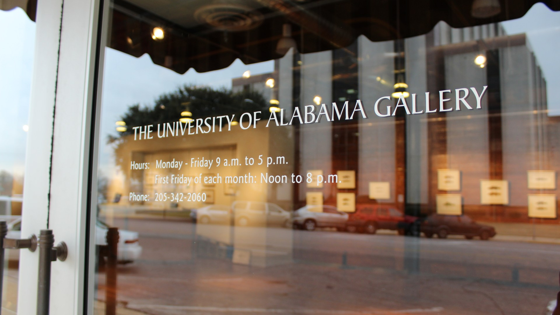 Welcome to the University of Alabama Gallery