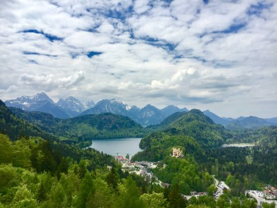 Views from the Neuschwanstein Castle. Tip: remember to breathe.