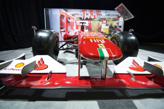 The Ferrari F14 T - its 2014 Formula 1 competitor.