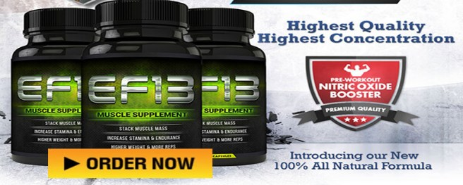 ef13 muscle supplement
