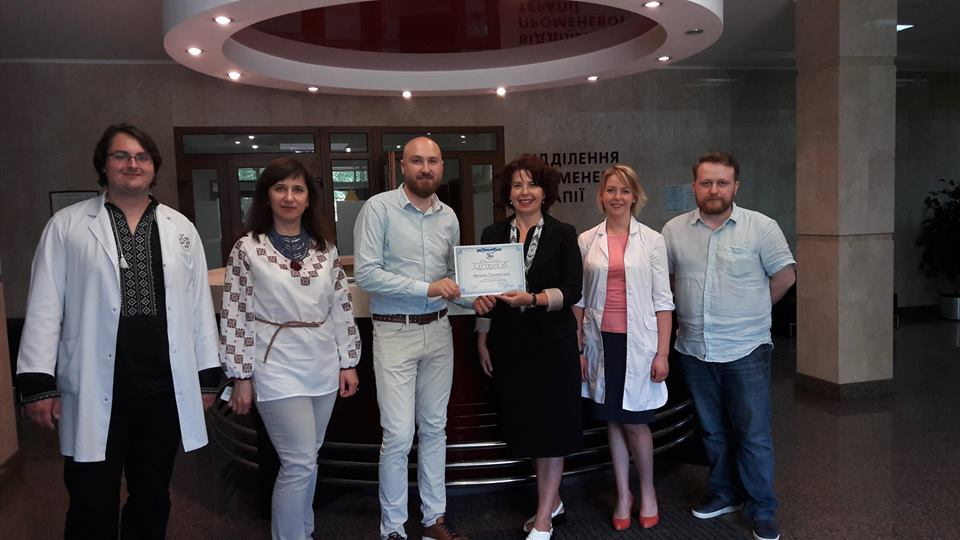 Congratulations to another member of the Ukrainian Association of Medical Physicists!