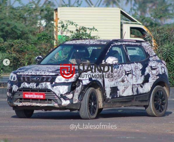The sports versions of Mahindra XUV300 was showcased at the 2020 auto expo held at Noida. The Mahindra XUV300 Sportz will be a more powerful version of XUV300. It gets red elements, a black interior and red body graphics outside