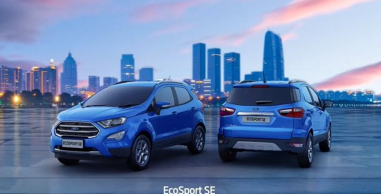 Ford finally launched the Ford EcoSport SE for domestic customers it comes with a similar rear end that is being offered in the export model and offered features like TPMS and punctures repair kit