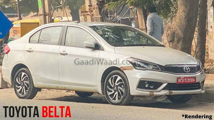 Under the Maruti and Toyota global partnership. Now Toyota is launching Toyota Belta. Which will be the rebadged version of Maruti CIAZ.