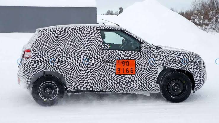 Citroen CC21 is spied testing many times. After C5 Aircross, It is going to be the second offering from the company for the Indian customers.