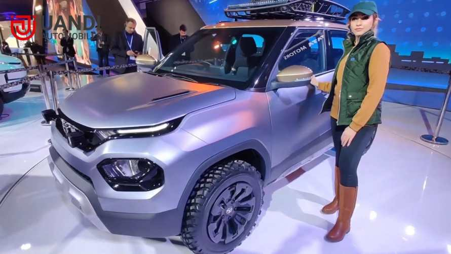 Tata HBX Specifications includes a 1.2-Liter petrol engine, semi-digital instrument cluster, a floating type touch screen. Dual-tone alloy