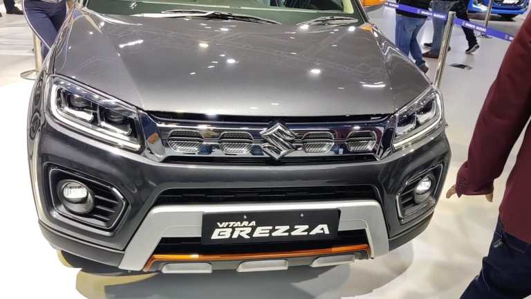 Maruti Suzuki is working on the next-gen Maruti Vitara Brezza model, reportedly it will offer more advanced features and a big infotainment